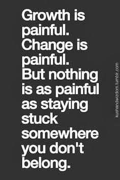 growth is painful