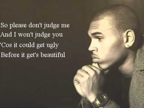 so please don't judge