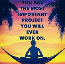 you are the most important project